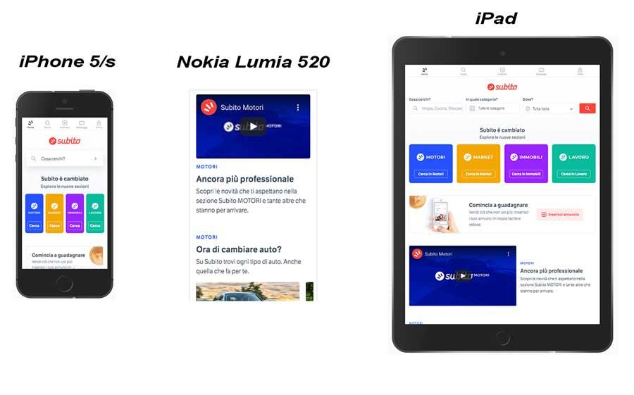 sito responsive esempi